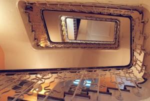 Hueco de una escalera